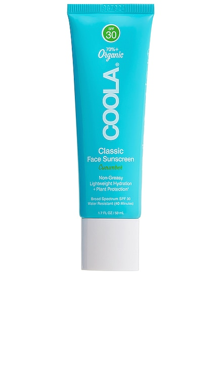 Classic Face Organic Sunscreen Lotion SPF 30 COOLA $32 BEST SELLER