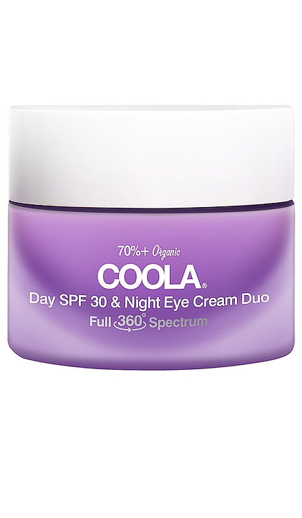 Day SPF 30 & Night Eye Cream Duo COOLA $46