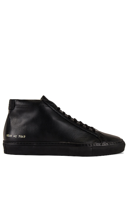 Original Leather Achilles Mid Common Projects $435 BEST SELLER