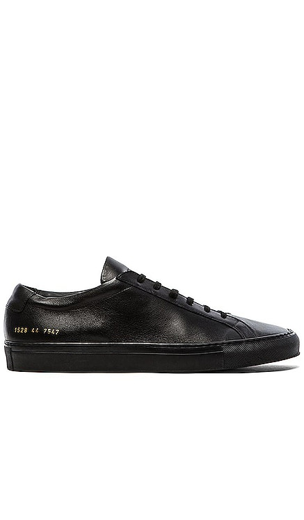 Original Leather Achilles Low Common Projects $412 BEST SELLER