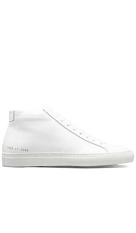 Original Leather Achilles Mid Common Projects $449