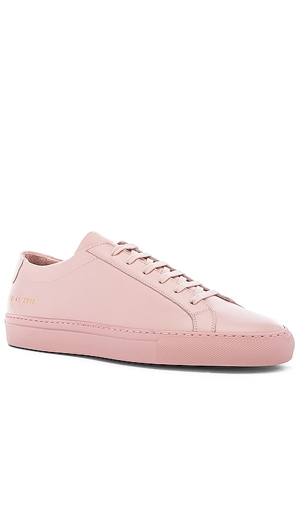 Original Leather Achilles Low Common Projects $411