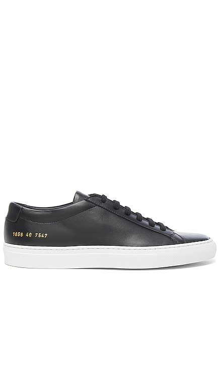 Original Leather Achilles Low Common Projects $435 BEST SELLER