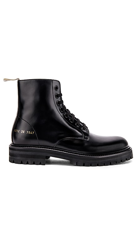 Standard Lug Sole Combat Boot Common Projects $693 BEST SELLER