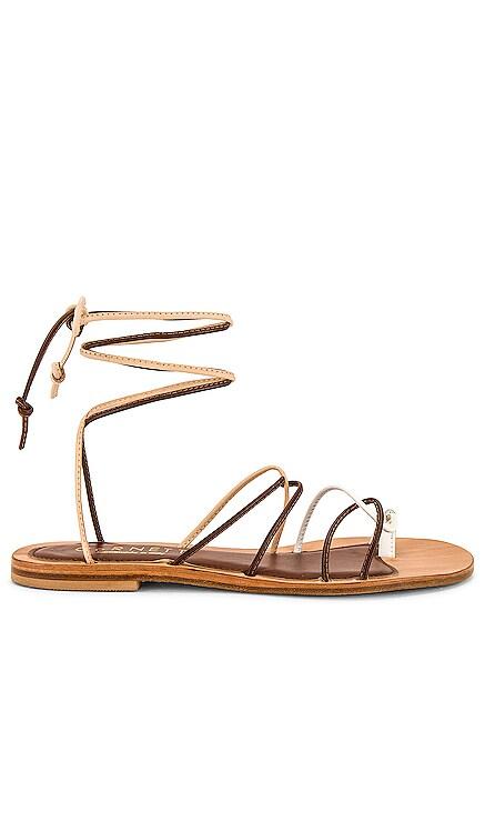 Angela Lace Up Sandal CoRNETTI $250