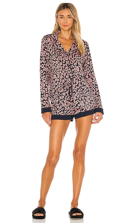 Long Sleeve and Boxer Set Cosabella $110 BEST SELLER
