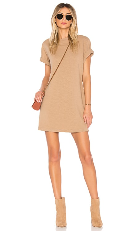 Tokyo Short Sleeve Mini Dress COTTON CITIZEN $145