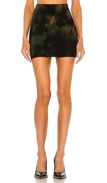 x REVOLVE Ribbed Mini Skirt COTTON CITIZEN $155 BEST SELLER