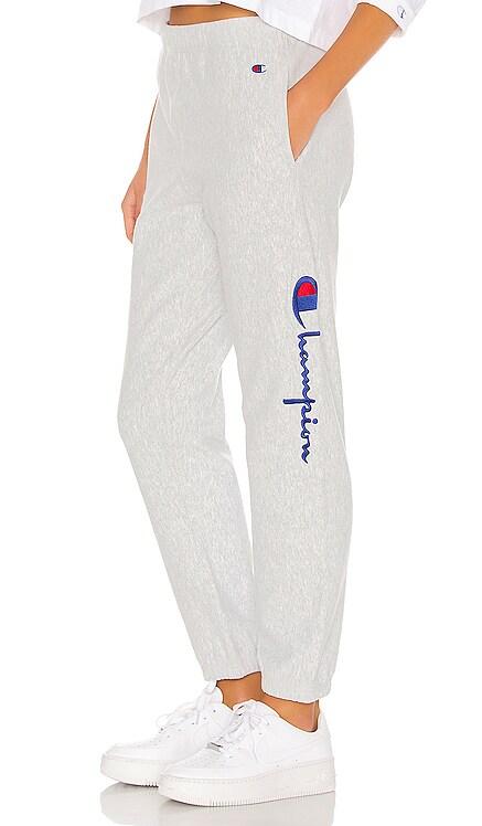 Reverse Weave Elastic Cuff Pant Champion $90