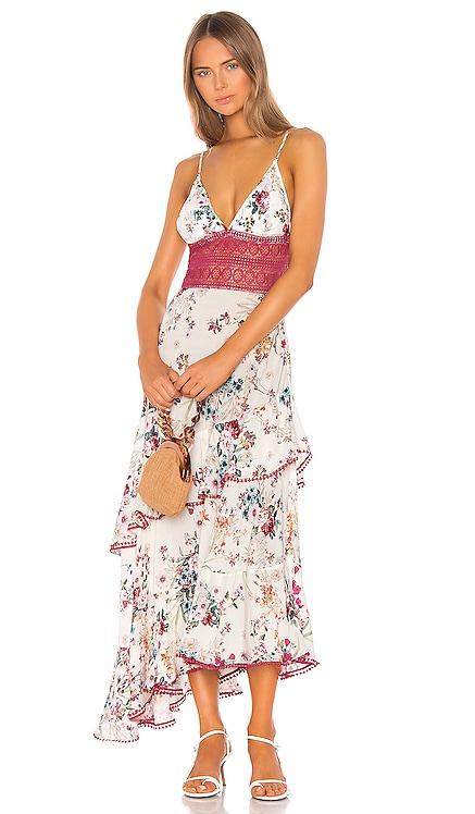 Noa Floral Long Dress Charo Ruiz Ibiza $202
