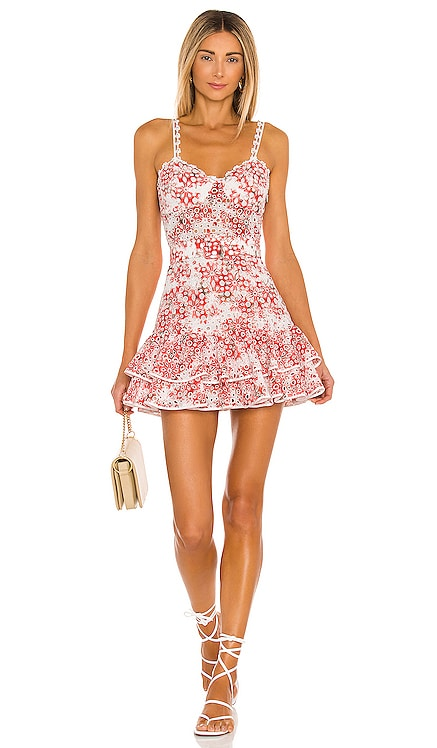 Marianne Short Dress Charo Ruiz Ibiza $495 NEW