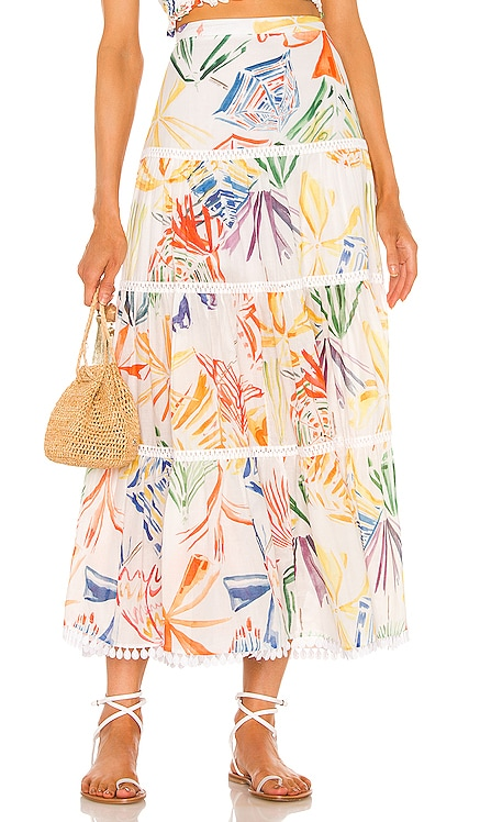 Berta Maxi Skirt Charo Ruiz Ibiza $368 NEW