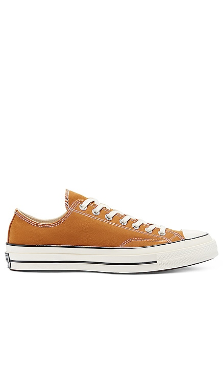 Chuck 70 Recycled Canvas Ox Converse $80