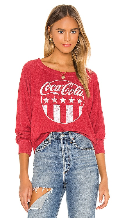 Coca-Cola Stars & Stripes Sweatshirt Chaser $84 BEST SELLER