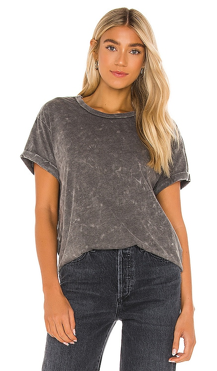 Recycled Vintage Jersey Rolled Short Sleeve Crew Neck Tee Chaser $59