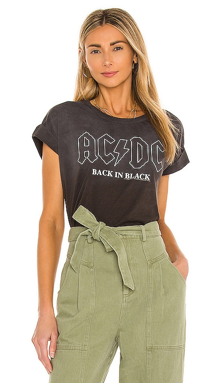 AC/DC Back in Black Tee Chaser $66 NEW