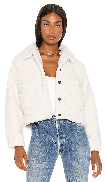 Faux Fur Jacket cupcakes and cashmere $150 NEW
