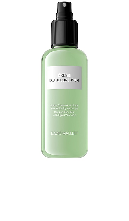 Spray Fresh Eau De Concombre Hair and Face Mist David Mallett $48