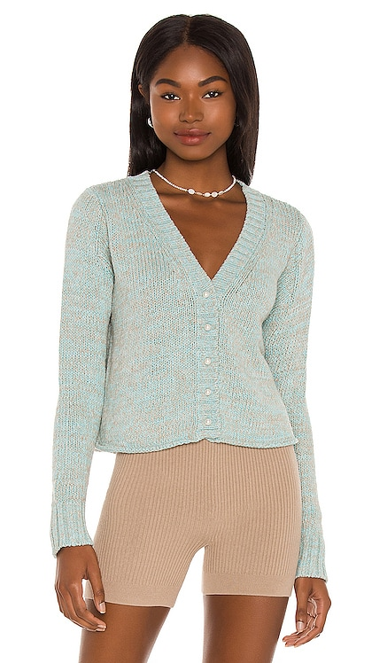 Cropped Cardigan With Pearl Buttons DANNIJO $195