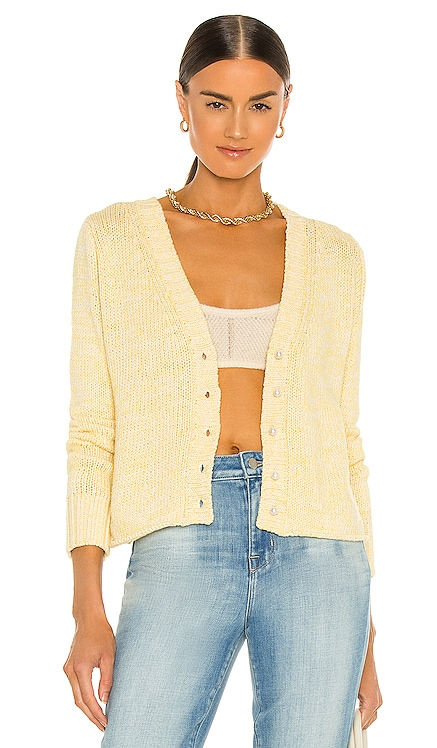 Cropped Cardigan With Pearl Buttons DANNIJO $195 NEW