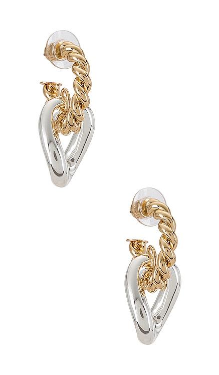 Michigan Hoop Earrings DANNIJO $150