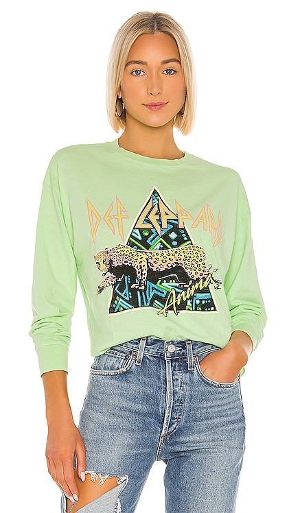 Def Leppard Crop Tee DAYDREAMER $88 BEST SELLER