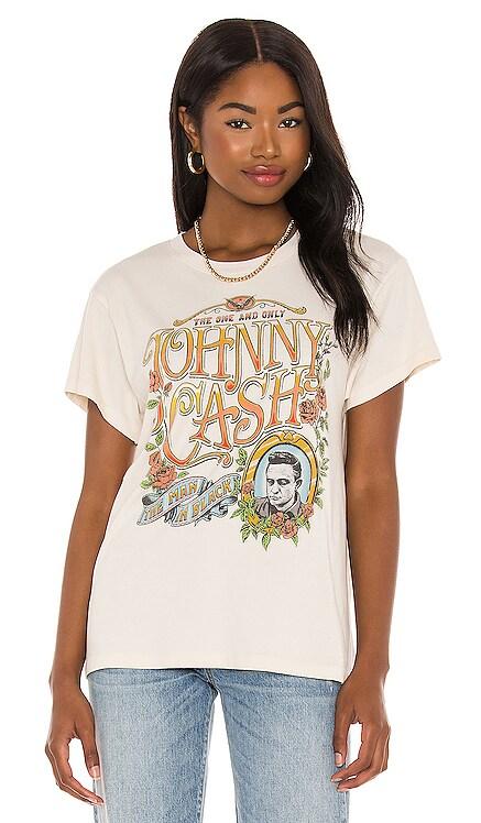 T-SHIRT GRAPHIQUE JOHNNY CASH DAYDREAMER $74 NOUVEAU