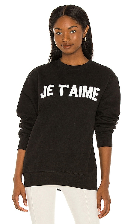 JE T'AIME クルーネック DEPARTURE $88 新作