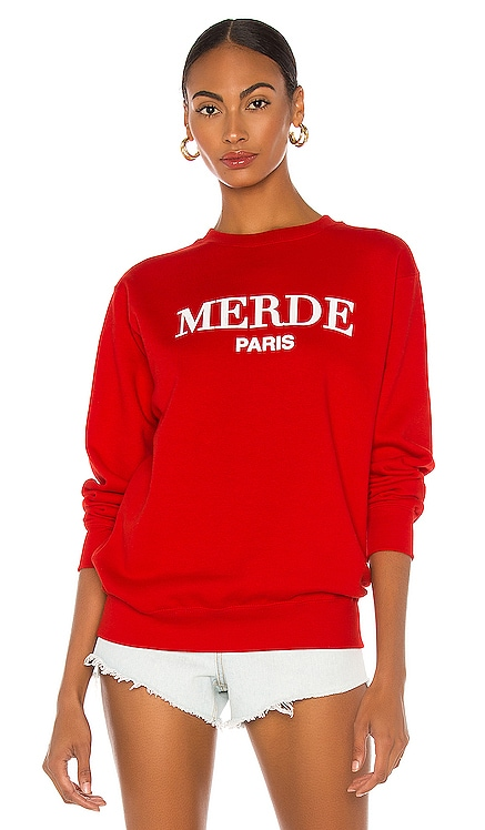 Merde Sweatshirt DEPARTURE $72 BEST SELLER