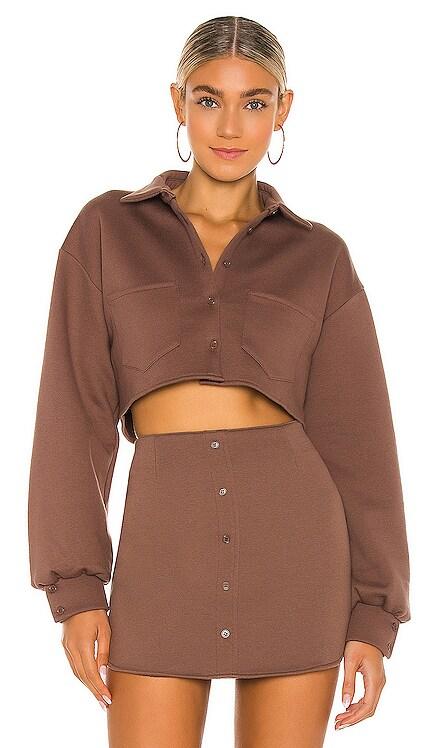 Fleece Button up Top DANIELLE GUIZIO $225 BEST SELLER