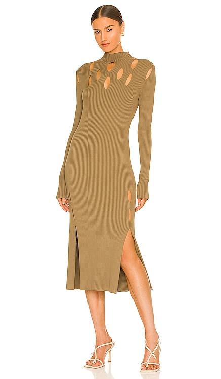 Slashed Rib Dress Dion Lee $860 NEW