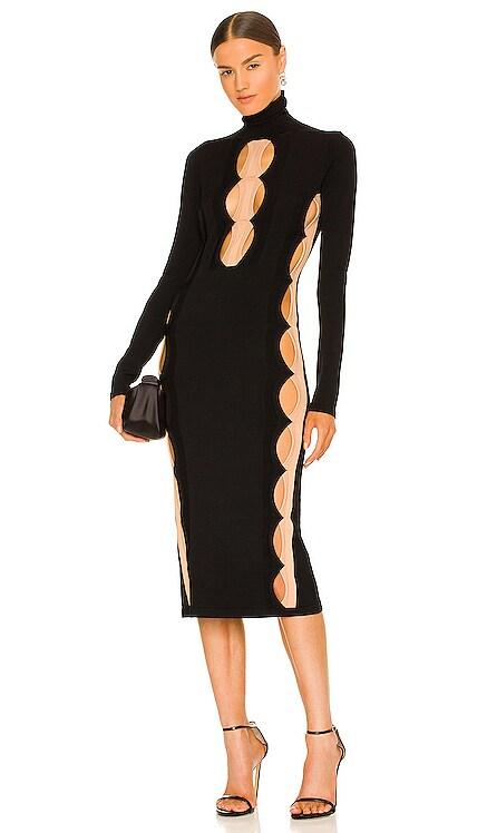 Double Hosiery Dress Dion Lee $860 NEW