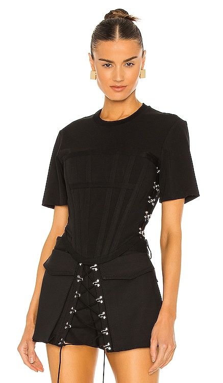 Jersey Corset Tee Dion Lee $390 NEW