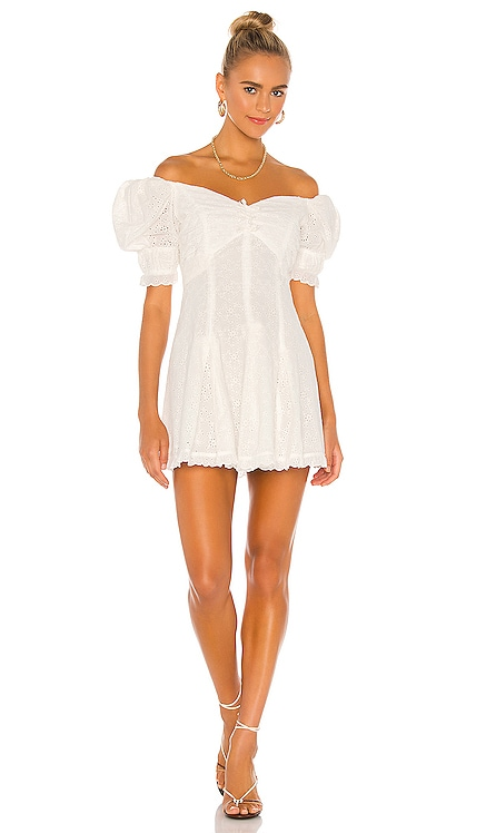 Off Shoulder Mini Dress Divine Heritage $395 NEW