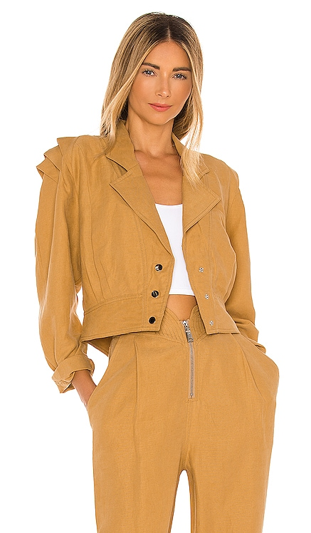 Pleated Shoulder Jacket Divine Heritage $335 BEST SELLER