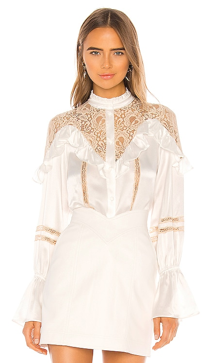 BLUSA LACE INSET Divine Heritage $183
