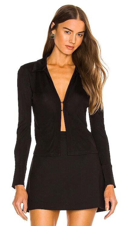 X REVOLVE Bell Sleeve Top Donna Karan $195 NEW