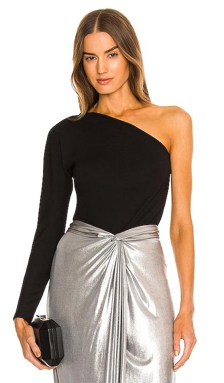 X REVOLVE One Shoulder Top Donna Karan $225 NEW
