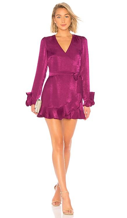 Eliza Wrap Dress Donna Mizani $83