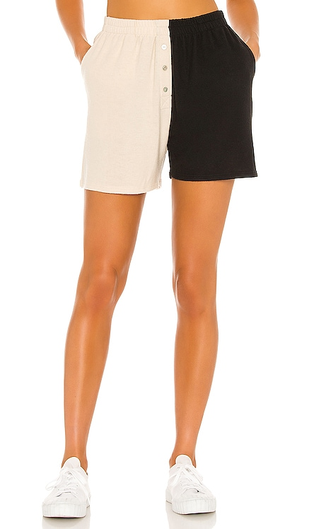 Duo Sweater Henley Short DONNI. $109 NEW