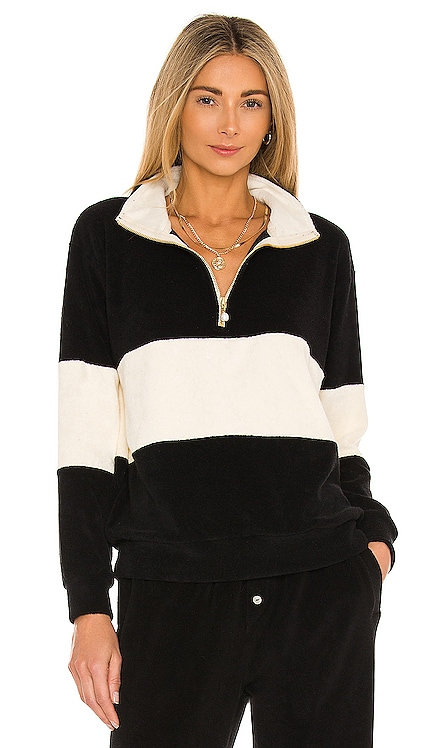 Terry Half Zip Pullover DONNI. $234 NEW