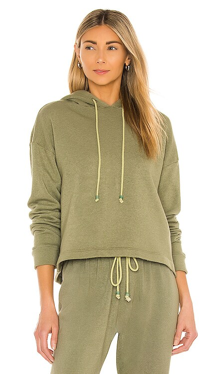 Vintage Fleece Gem Hoodie DONNI. $169