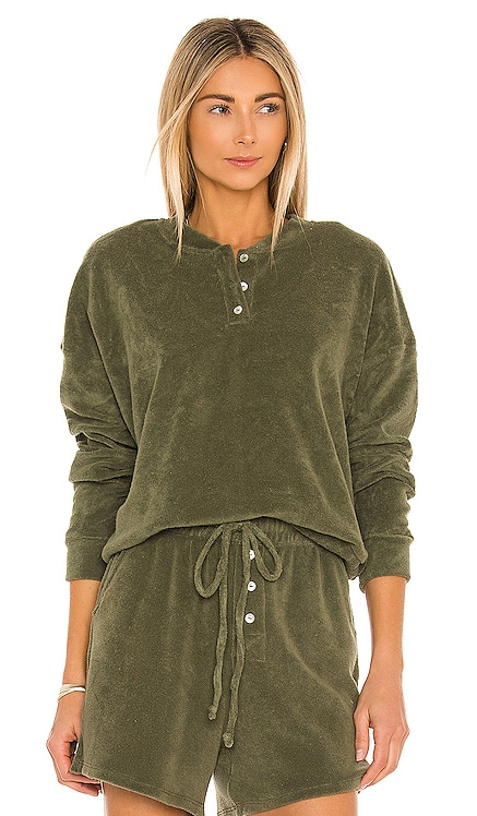 Terry Henley Sweatshirt DONNI. $159 НОВИНКИ