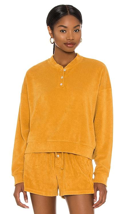 Terry Henley Sweatshirt DONNI. $96