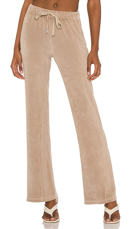 Terry Wide Leg Pant DONNI. $144 NEW