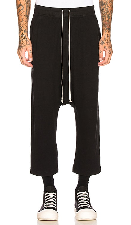 Drawstring Cropped Trouser DRKSHDW by Rick Owens $578 BEST SELLER