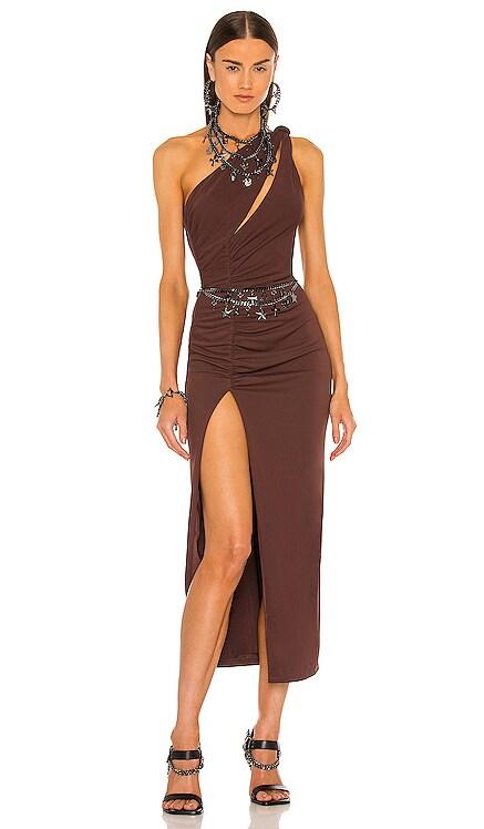 Kate Midi Dress DUNDAS x REVOLVE $238 NEW