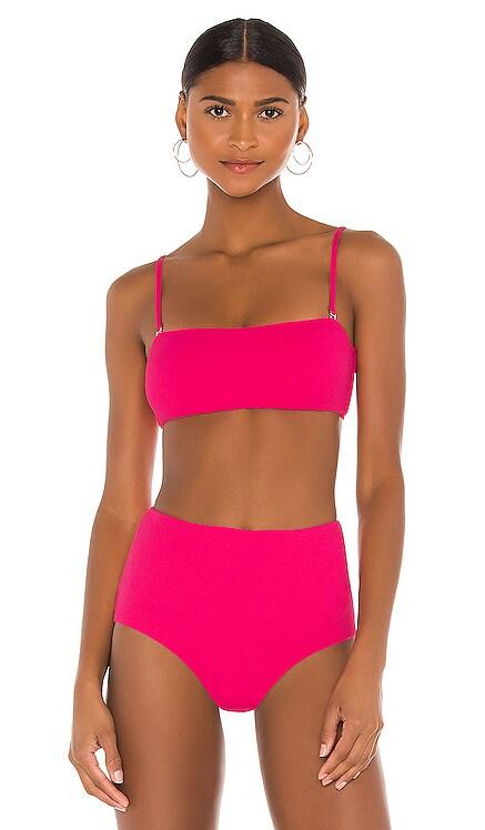 Pique Summer Bikini Top eberjey $96