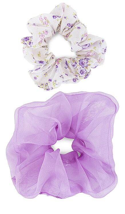 Cloud Scrunchie Set Emi Jay $55 NEW