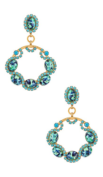 Belinda Earrings Elizabeth Cole $168 NEW